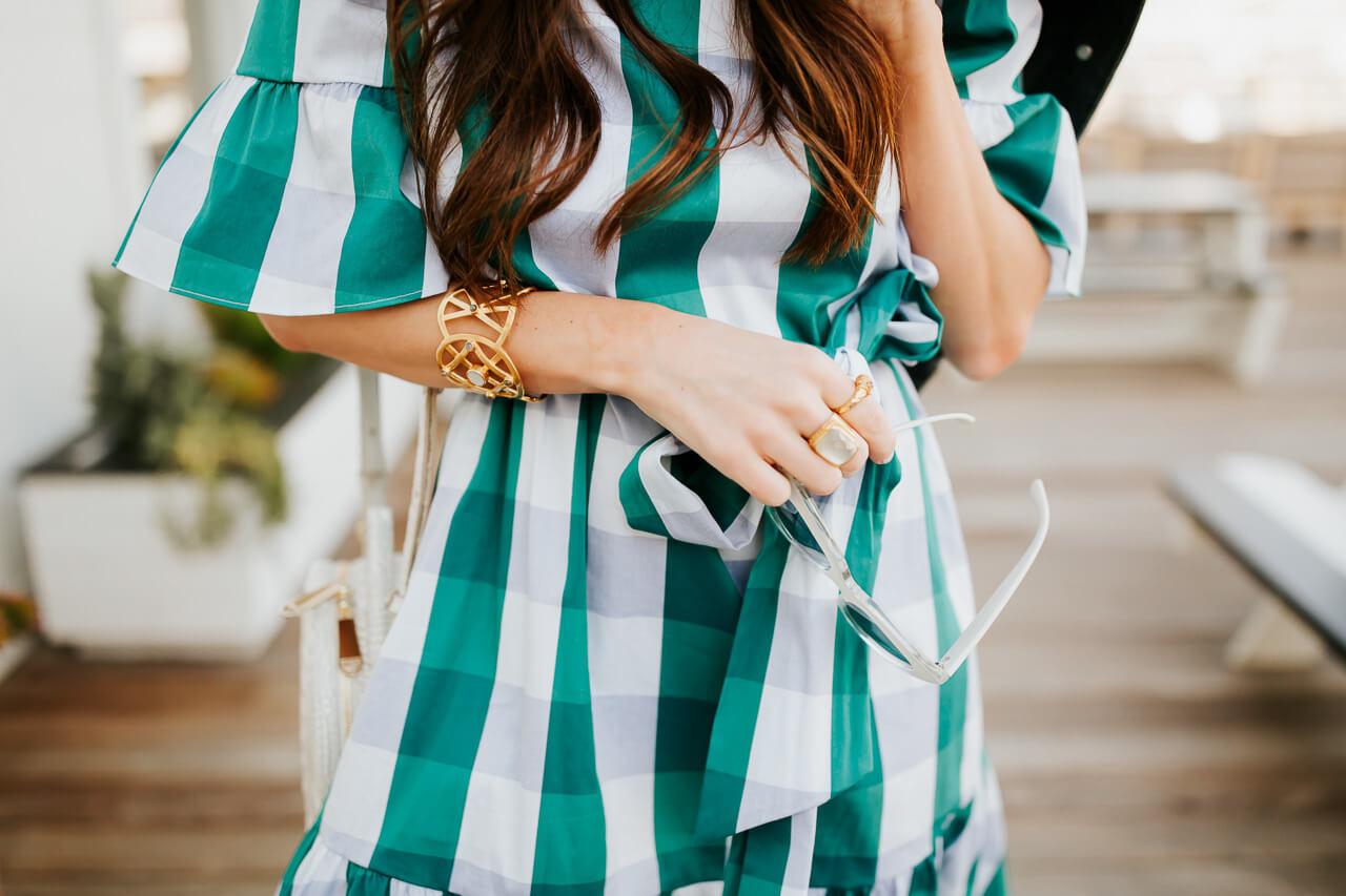 I'm loving this gingham dress for spring.   M Loves M @marmar