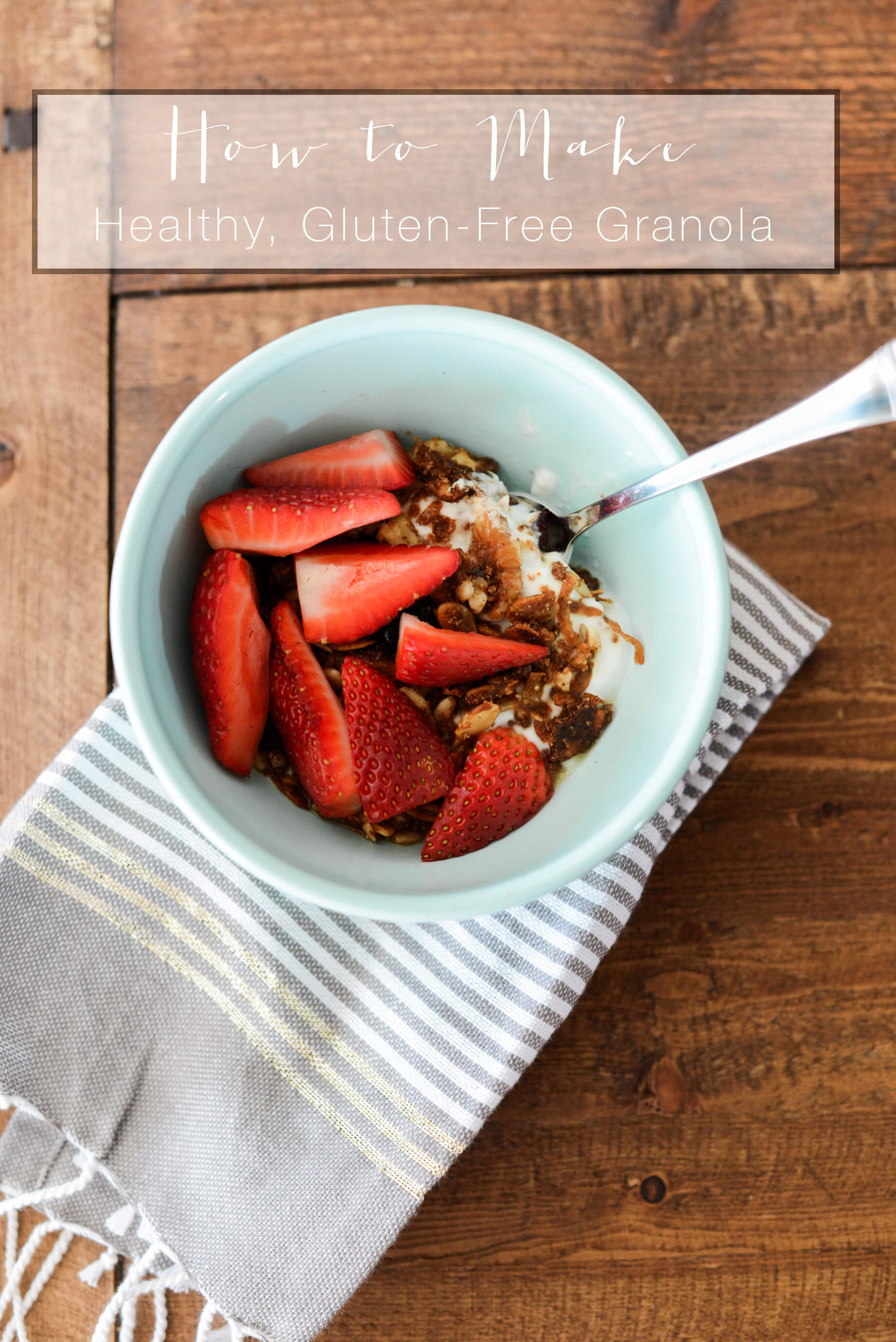 How to make healthy gluten-free granola recipe! | M Loves M @marmar