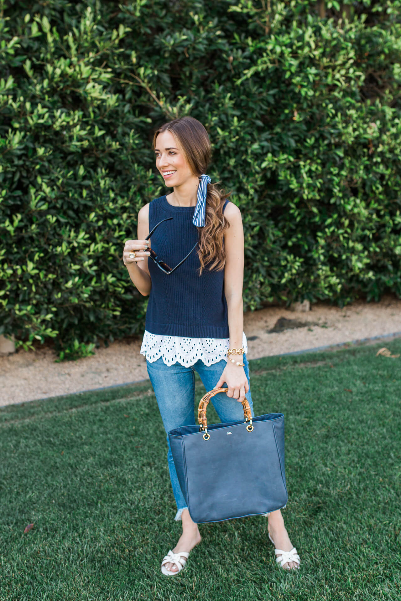 This casual summer outfit is so cute and comfy! | M Loves M @marmar