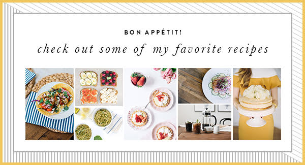 Check out some of my favorite healthy recipes! | M Loves M @marmar