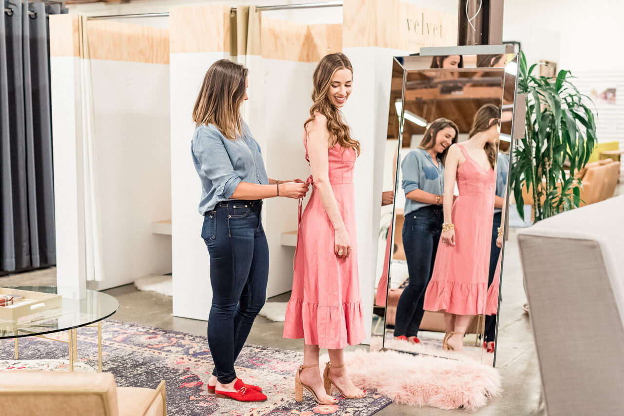 What it's like shopping with a personal stylist.   M Loves M @marmar
