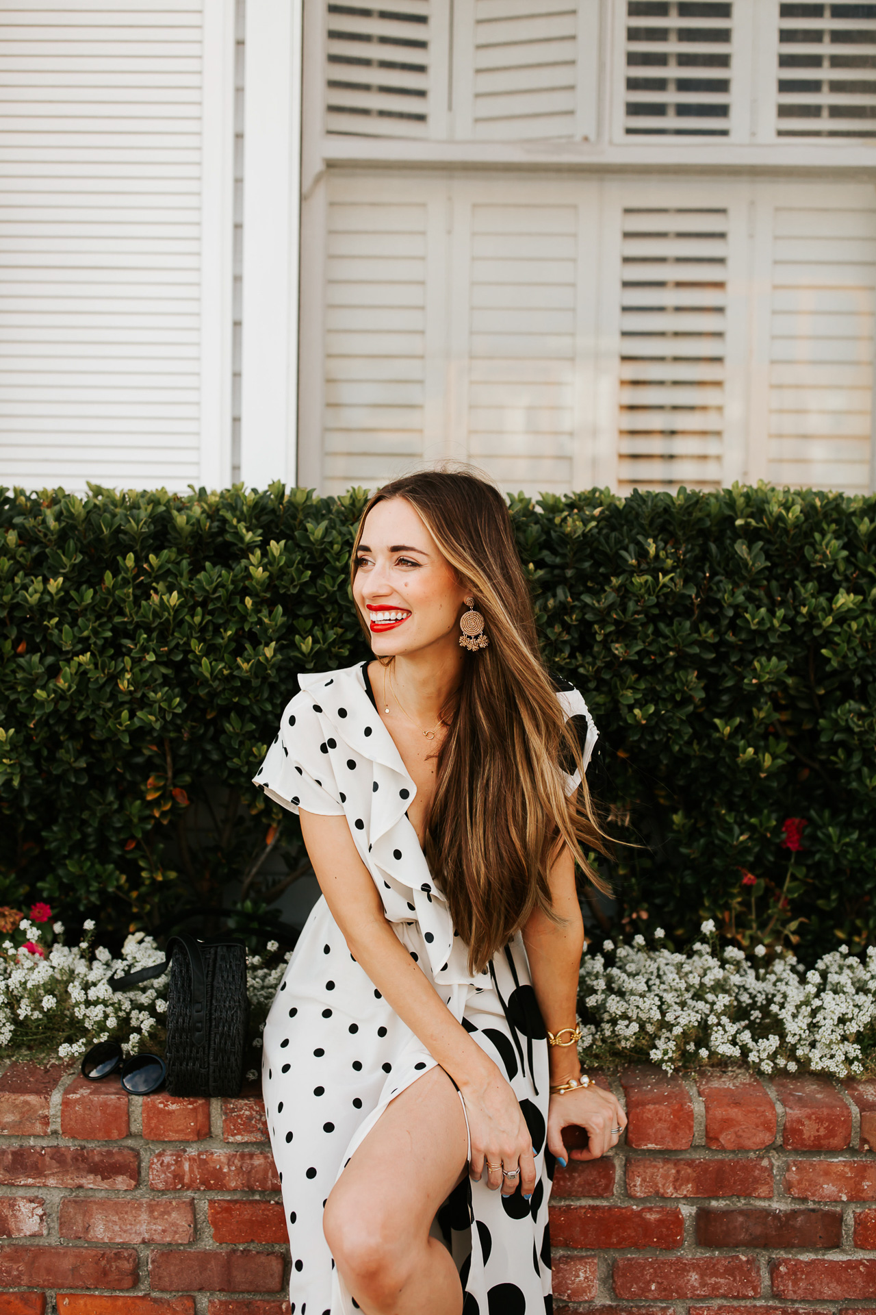 How to wear polka dots as a an adult. | M Loves M @marmar