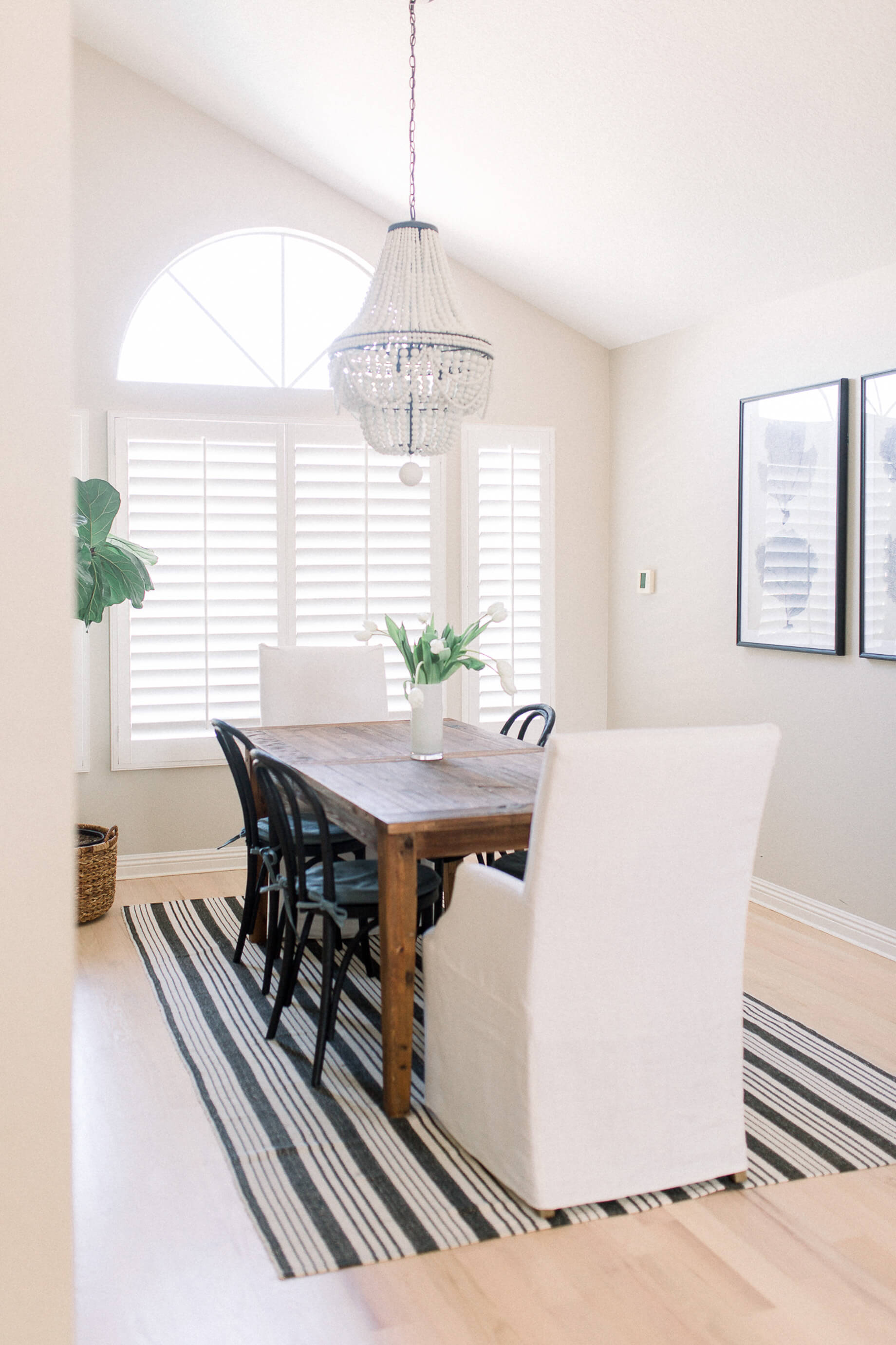 My dining room decor reveal! | M Loves M @marmar