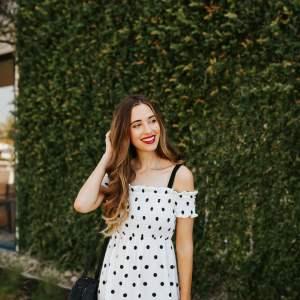 I love black and white polkadot prints!| M Loves M @marmar