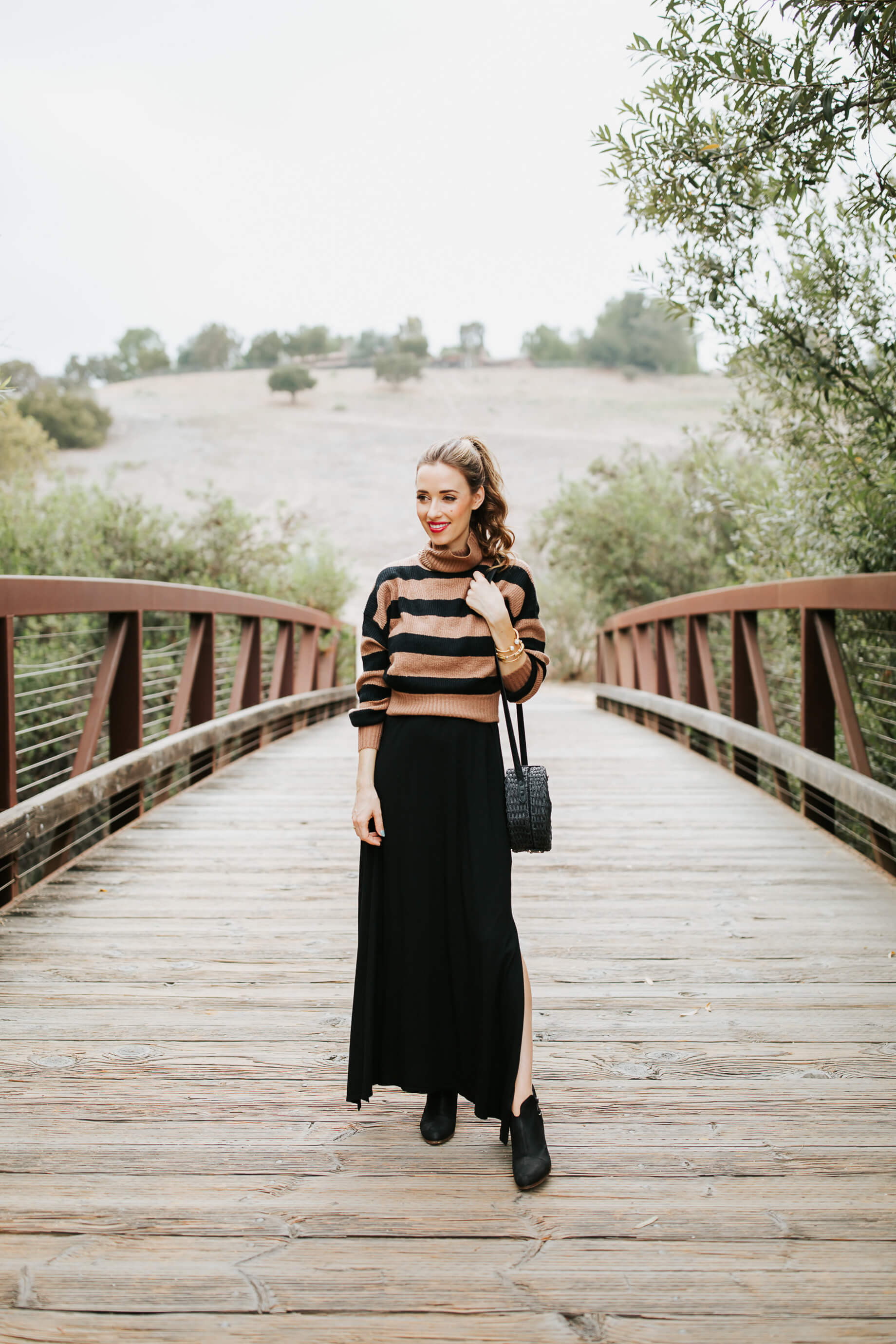 This is how to transition summer maxi dresses for fall! | M Loves M @marmar