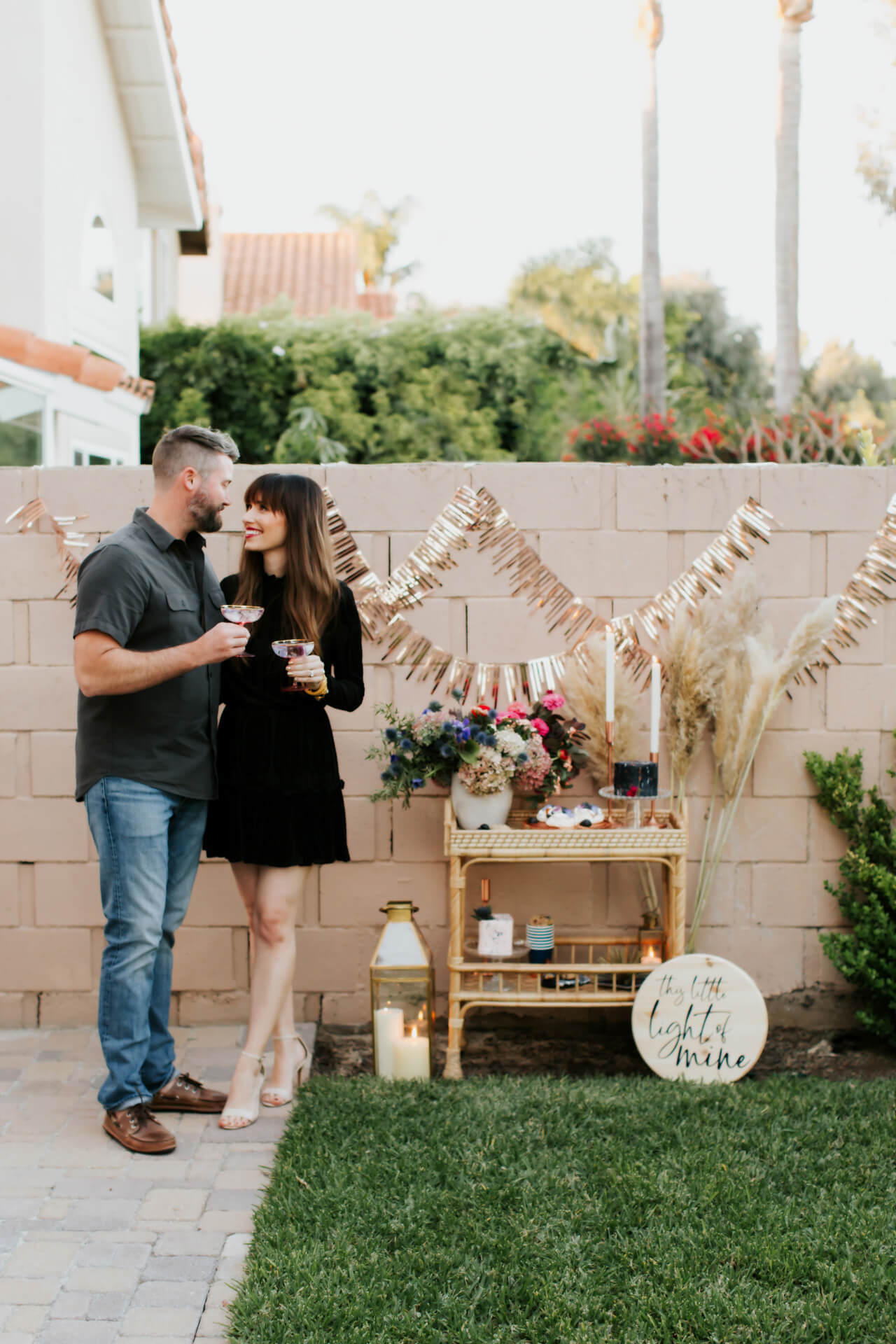Mara Ferreira and Matthew's Gender Reveal Party for second baby- M Loves M @marmar