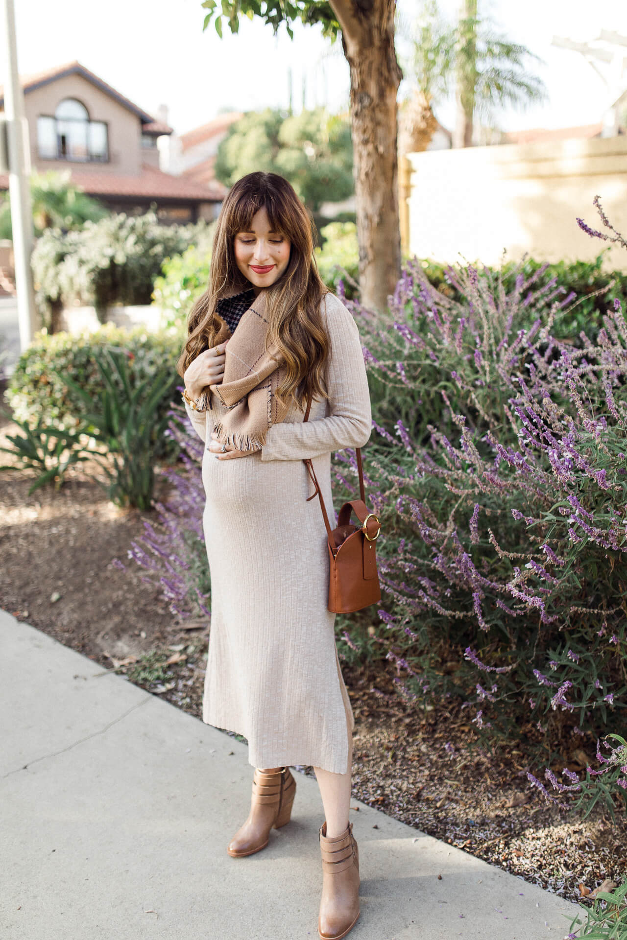 Love this long sweater dress in the winter! - M Loves M @marmar