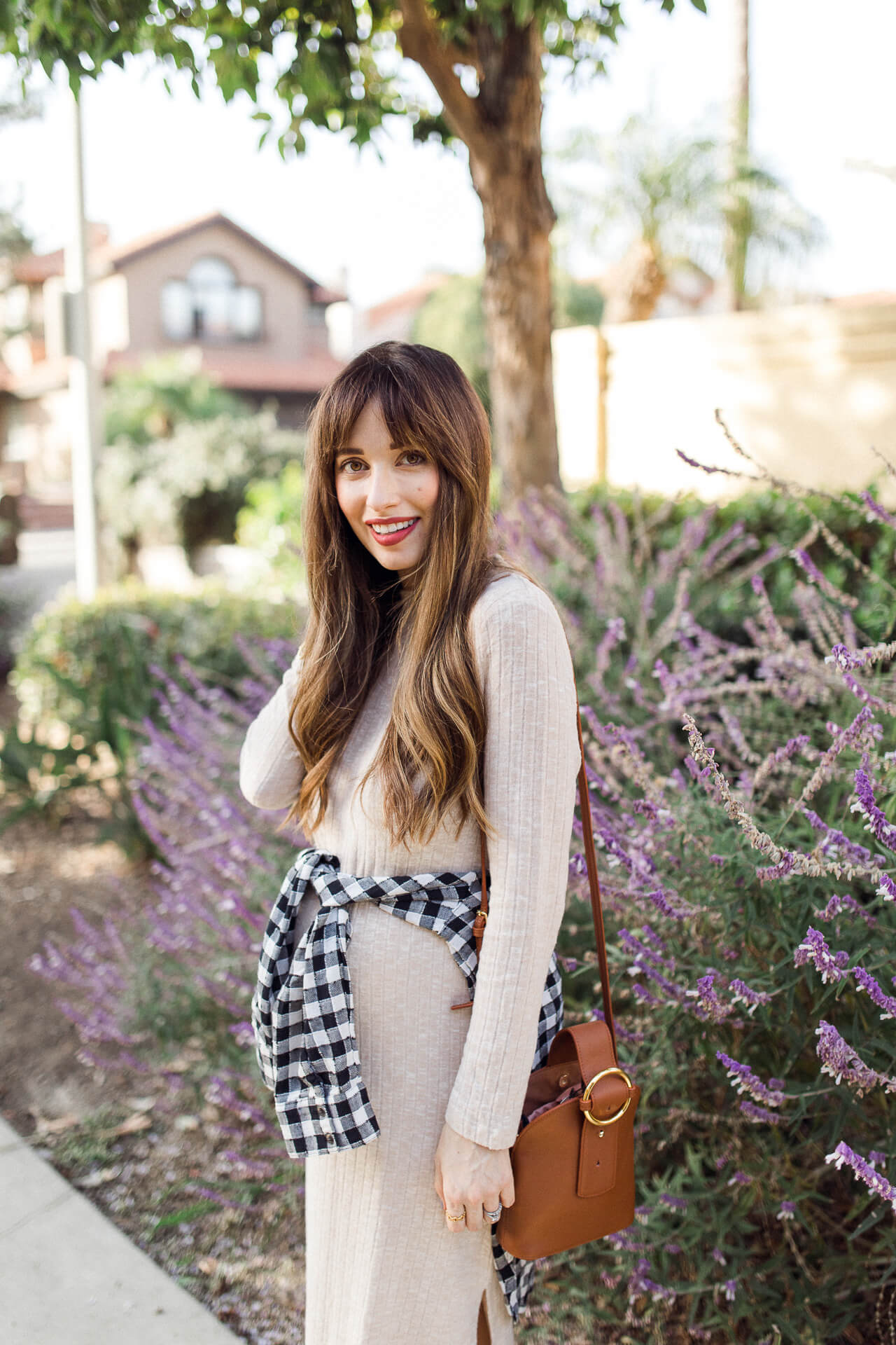 This maternity dress from Nordstrom is such a great maternity sweater dress! - M Loves M @marmar