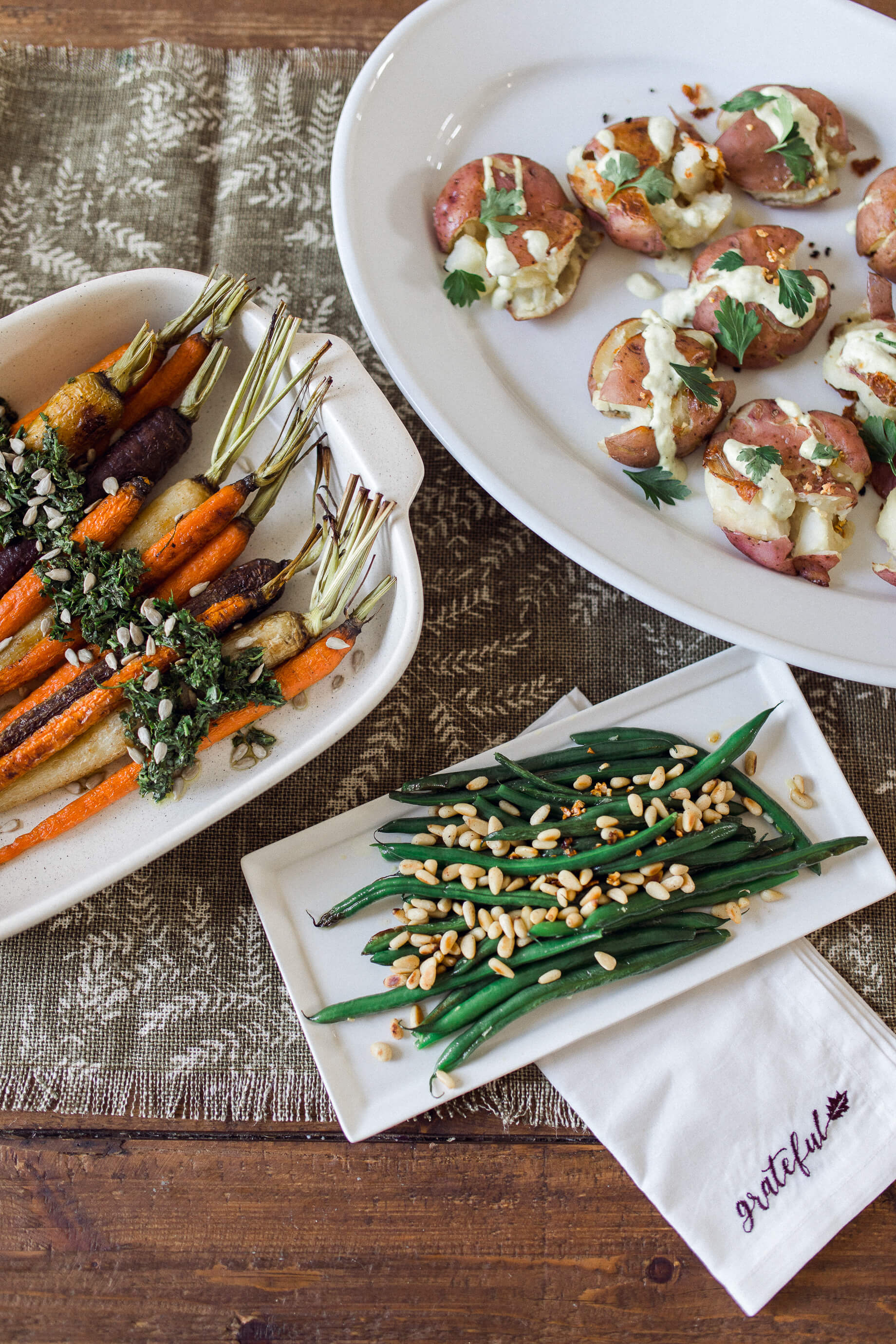 Easy vegetarian Thanksgiving side recipes! - M Loves M @marmar