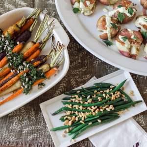 Easy vegetarian Thanksgiving side recipes! - M Loves M @marmar