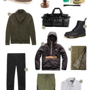 I asked my husband to make a gift guide for the guys with all his top holiday gift picks for dads, husbands, brothers, and boyfriends! - M Loves M @marmar