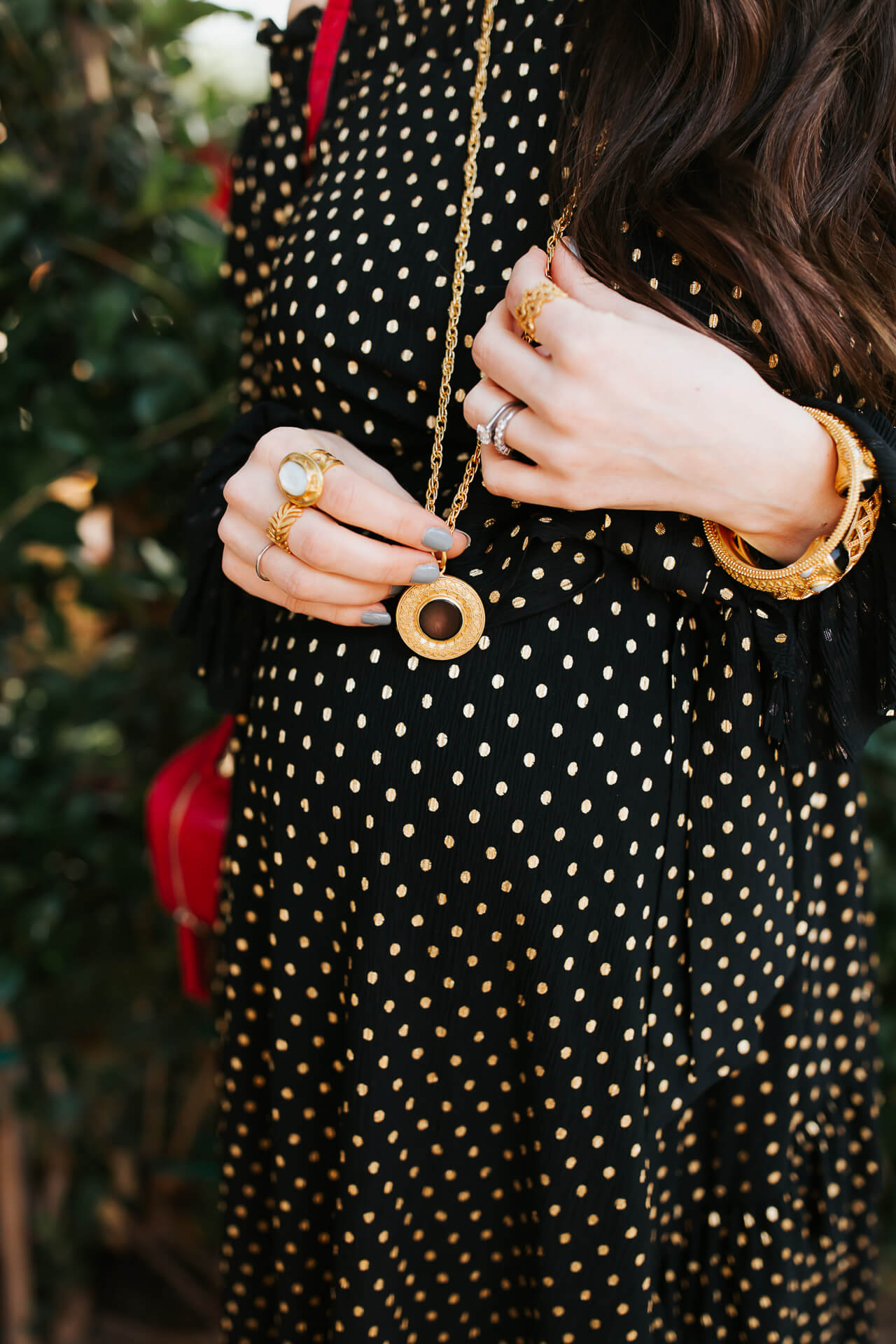 How chic is this black maternity outfit? - M Loves M @marmar