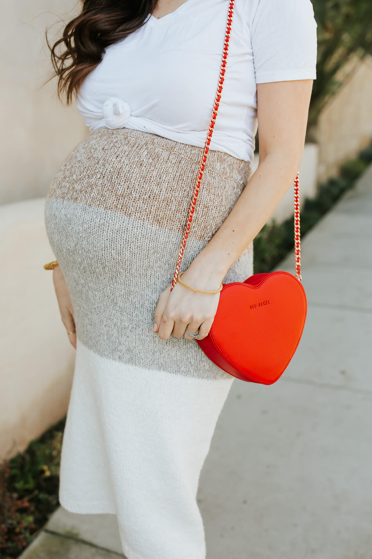 A maternity skirt and t-shirt combo! - M Loves M @marmar