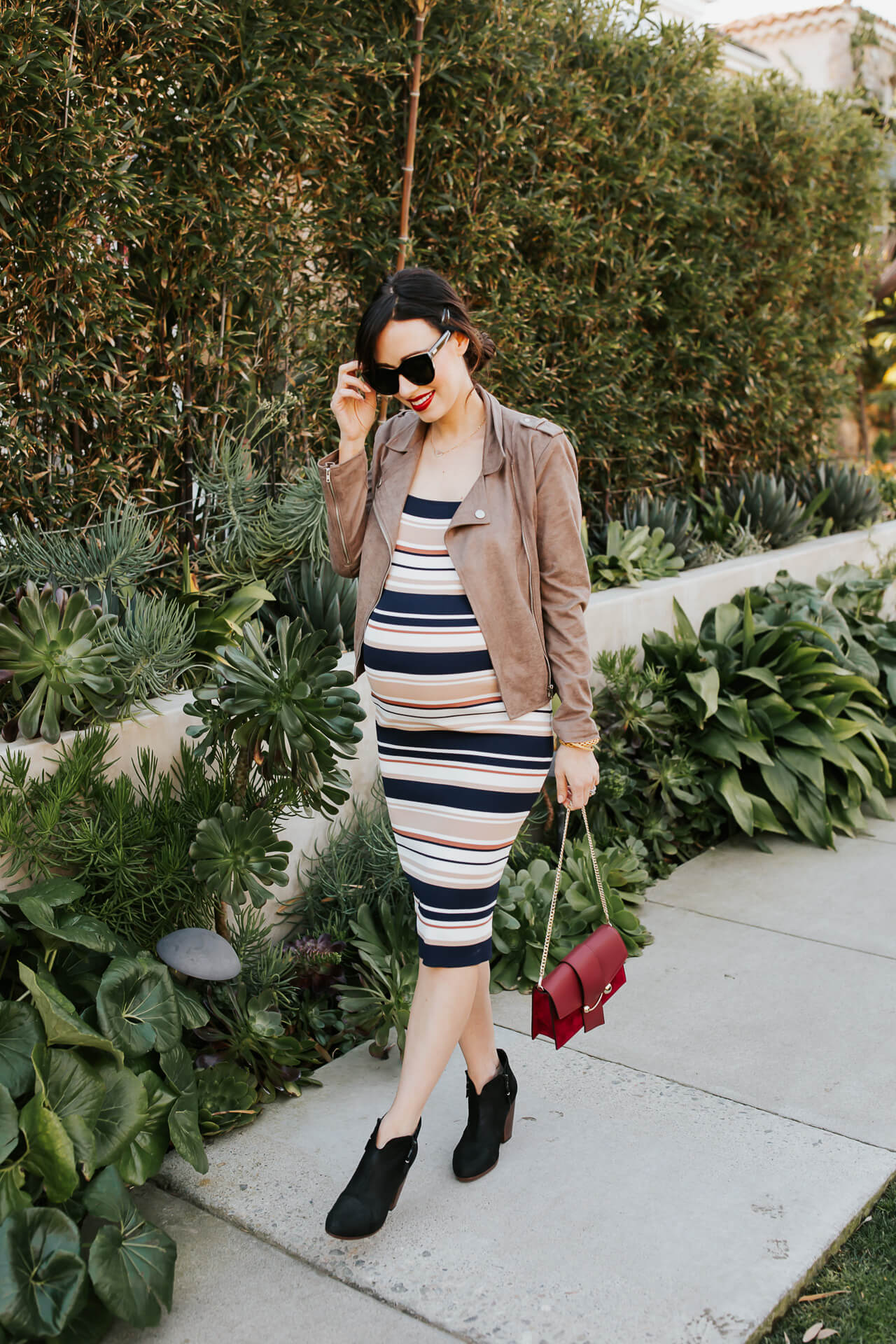 I found an easy date outfit, even for maternity! - M Loves M @marmar