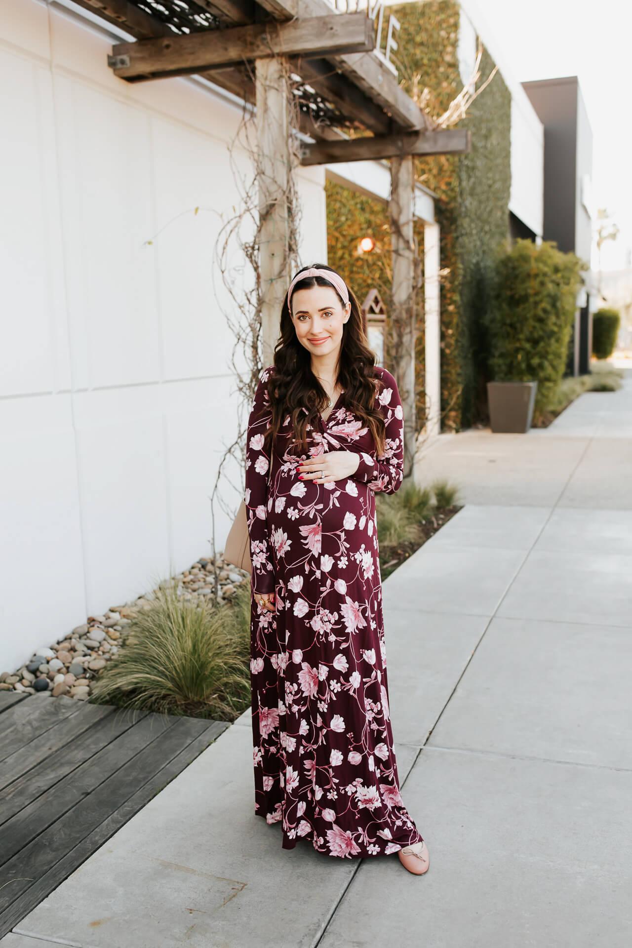 A floral maternity dress! - M Loves M @marmar