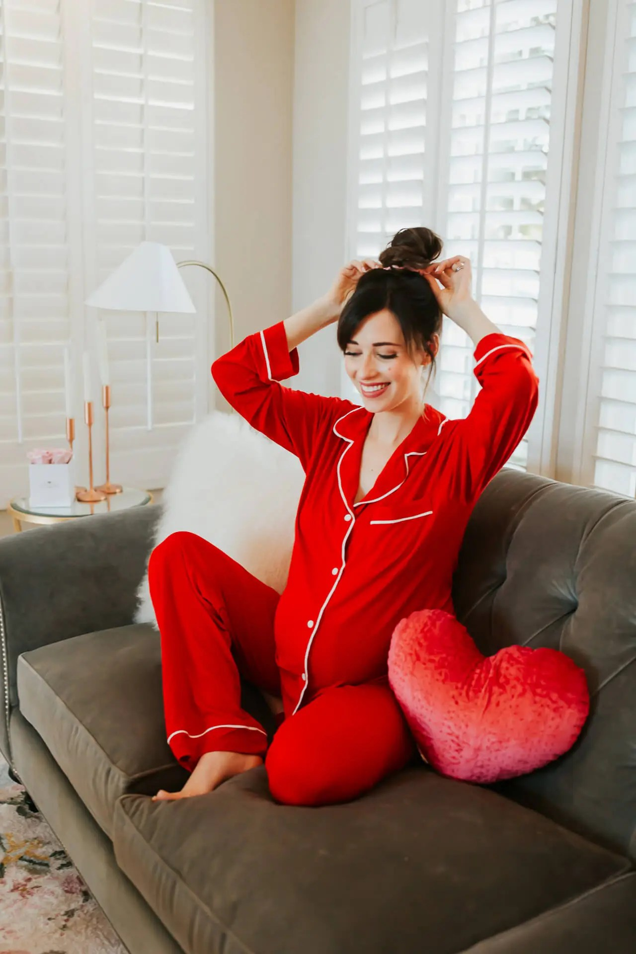 The cutest Valentine's Day pajamas!- M Loves M @marmar