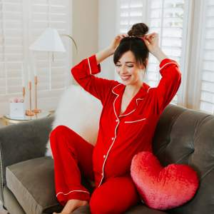 The cutest Valentine's Day pajamas!- M Loves M @marmar
