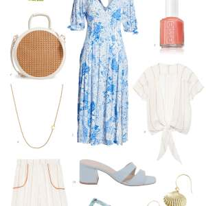 Blue and coral inspiration! - M Loves M @marmar