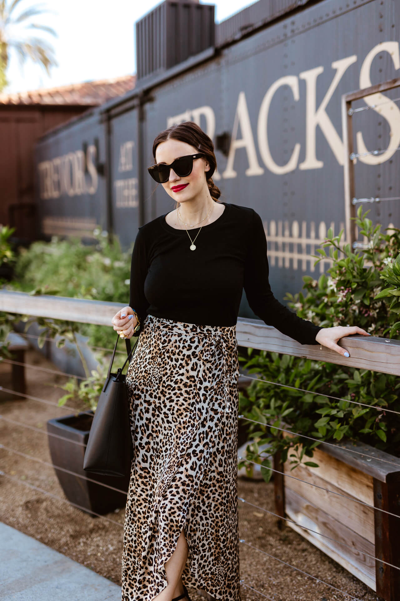 A leopard midi skirt for spring! - M Loves M @marmar