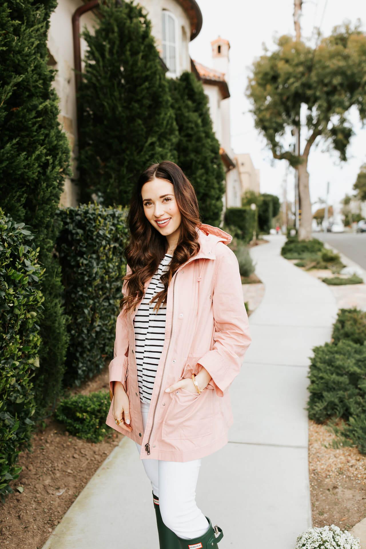 A millenial pink raincoat! - M Loves M @marmar