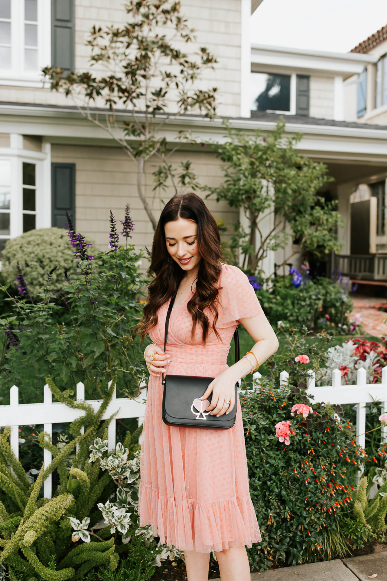 This pink Gal Meets Glam dress is so pretty! - M Loves M @marmar