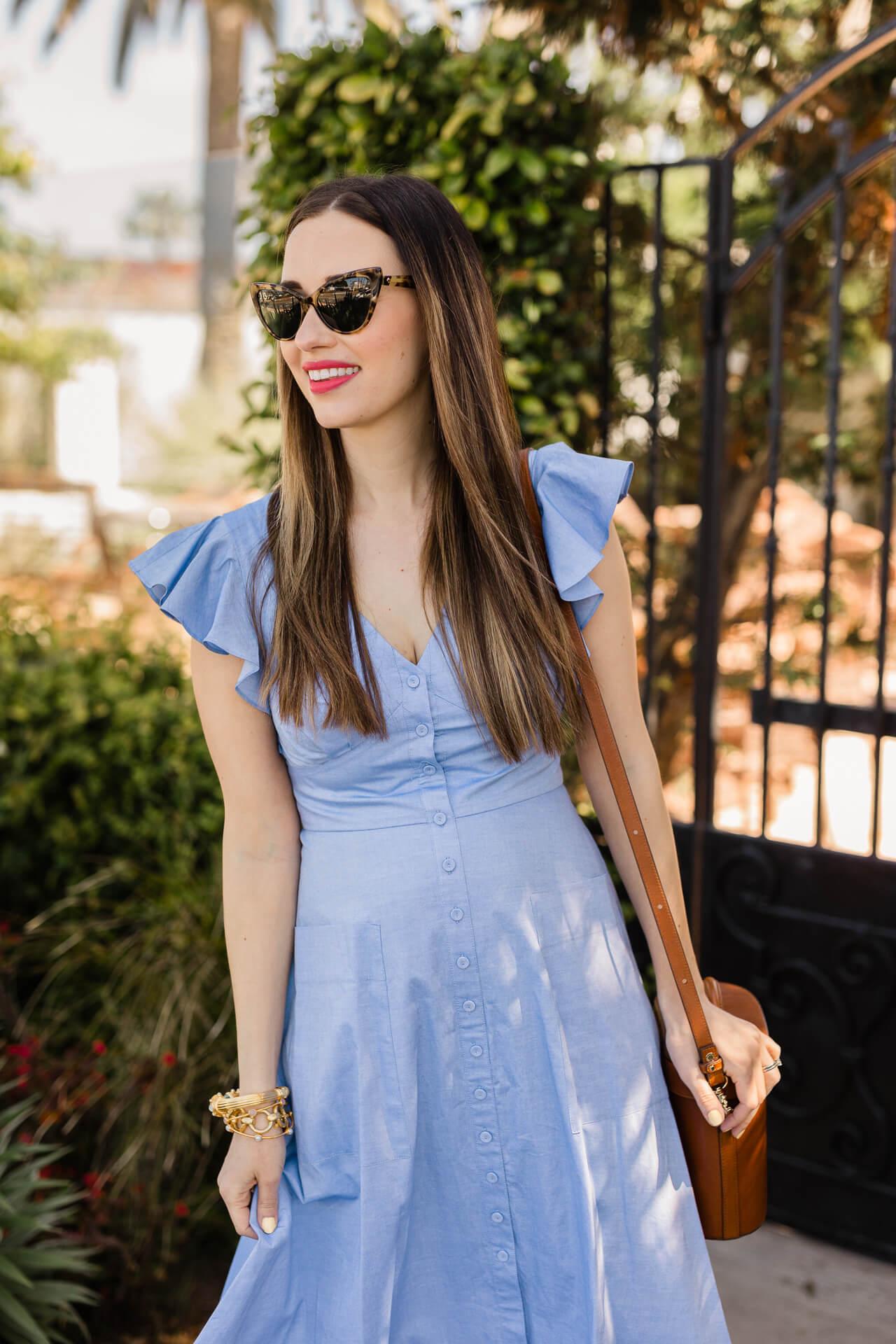 A summer chambray dress! - M Loves M @marmar