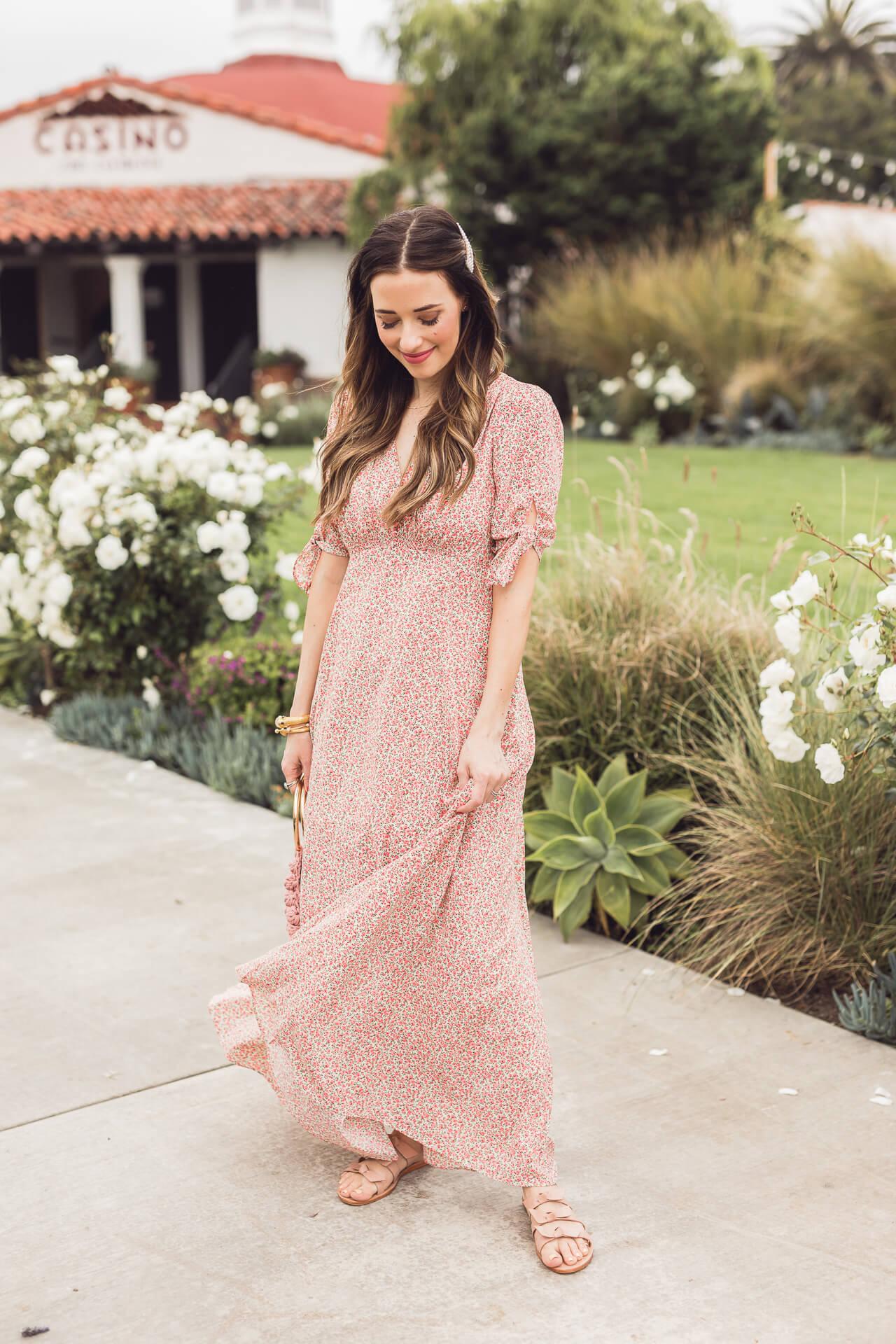 A Gal Meets Glam floral maxi dress! - M Loves M