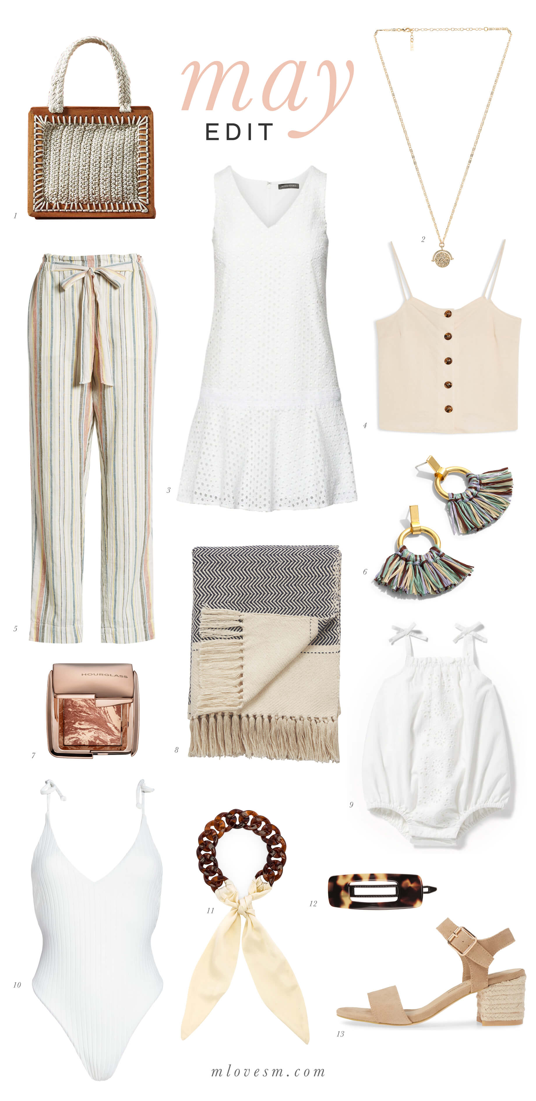 Love these textured and neutral pieces! - M Loves M