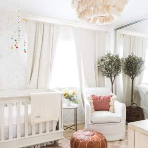 Baby girl bedroom decor! - M Loves M