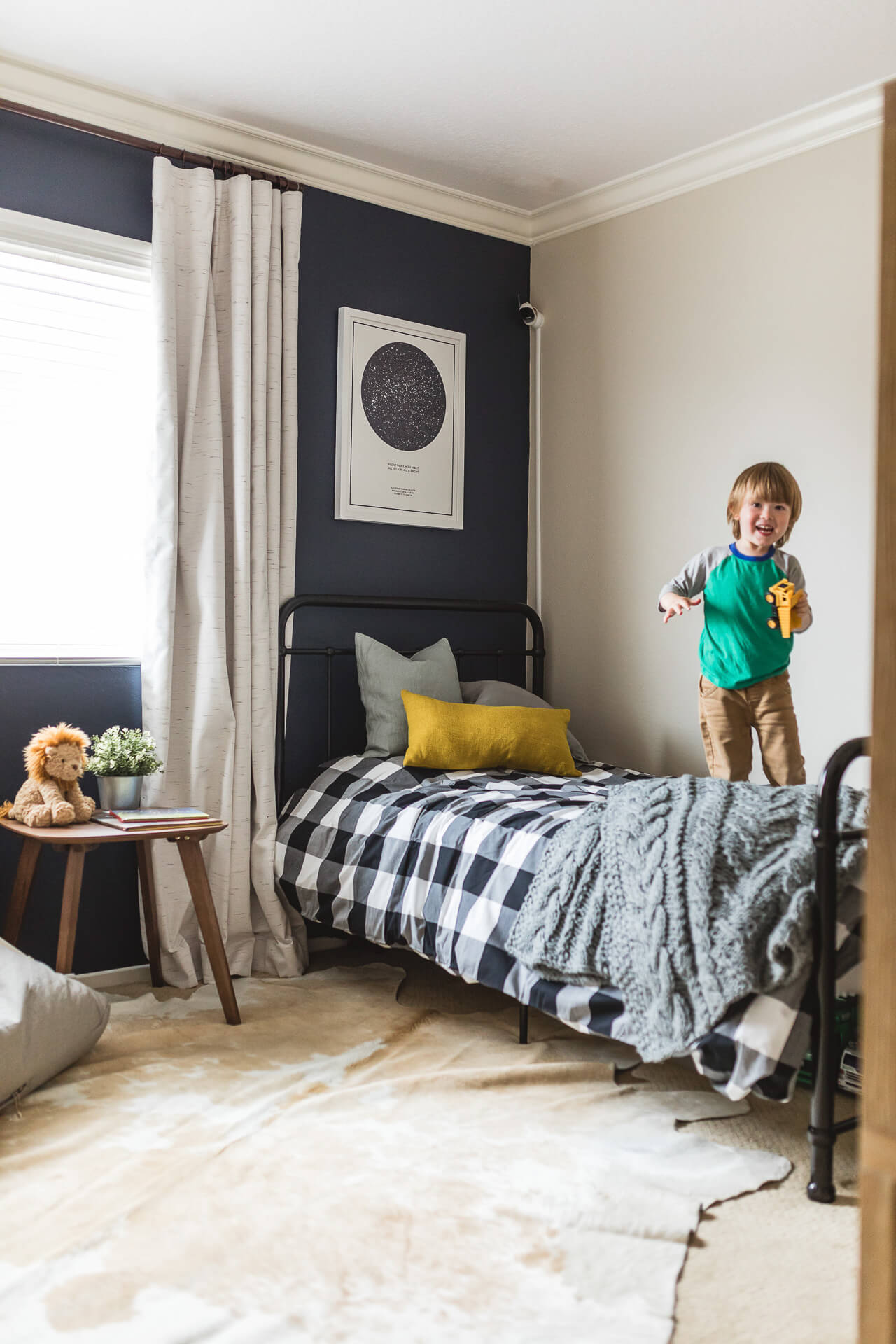 My toddler loves his big boy room! - M Loves M