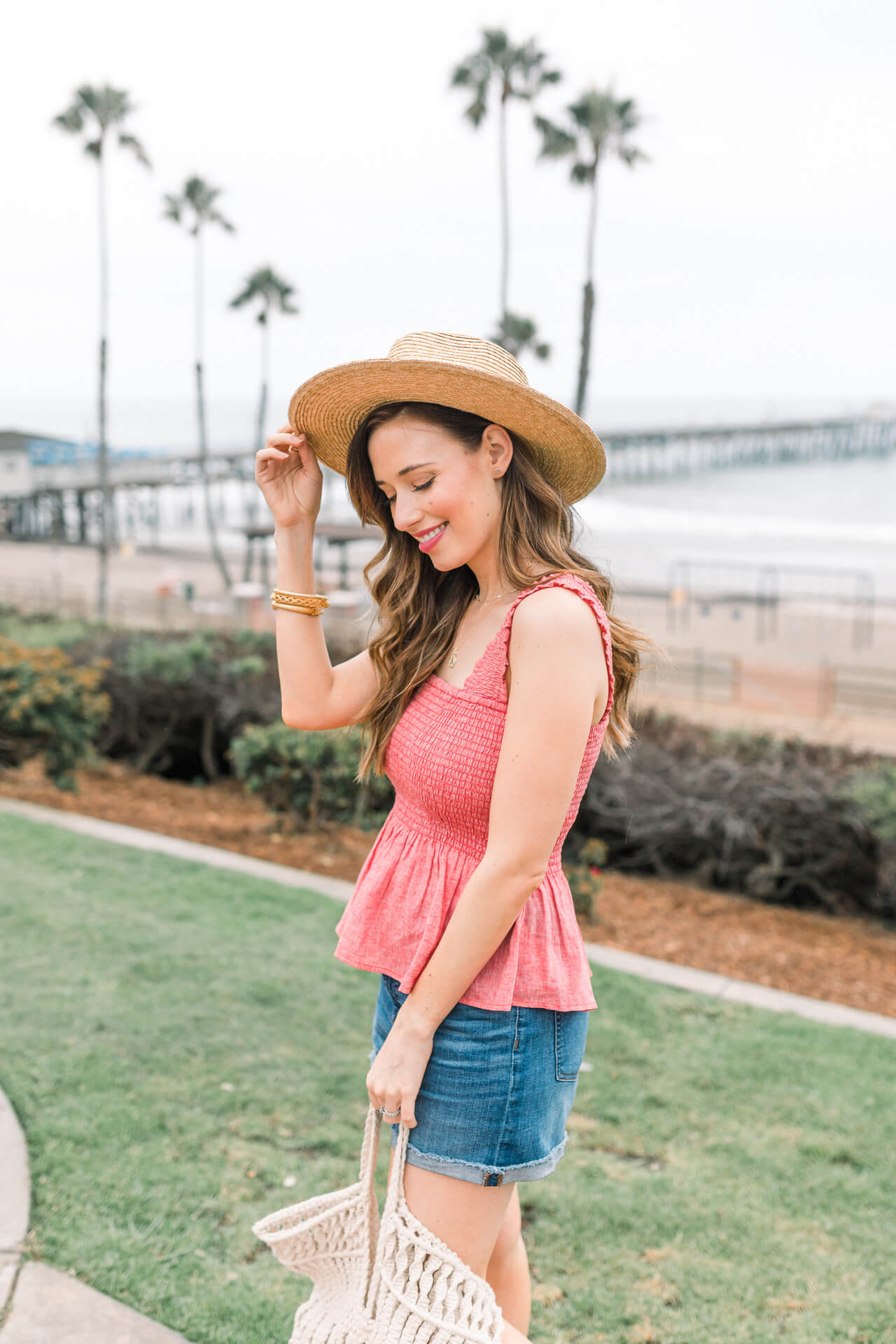 A summer beach outfit that is cute and comfy! - M Loves M