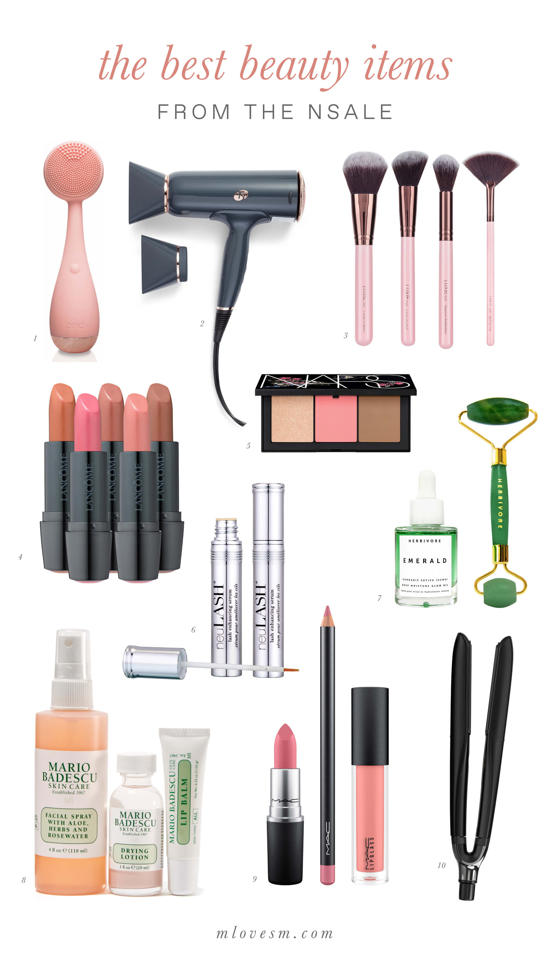 the best beauty products in the Nordstrom Anniversary Sale - M Loves M @marmar