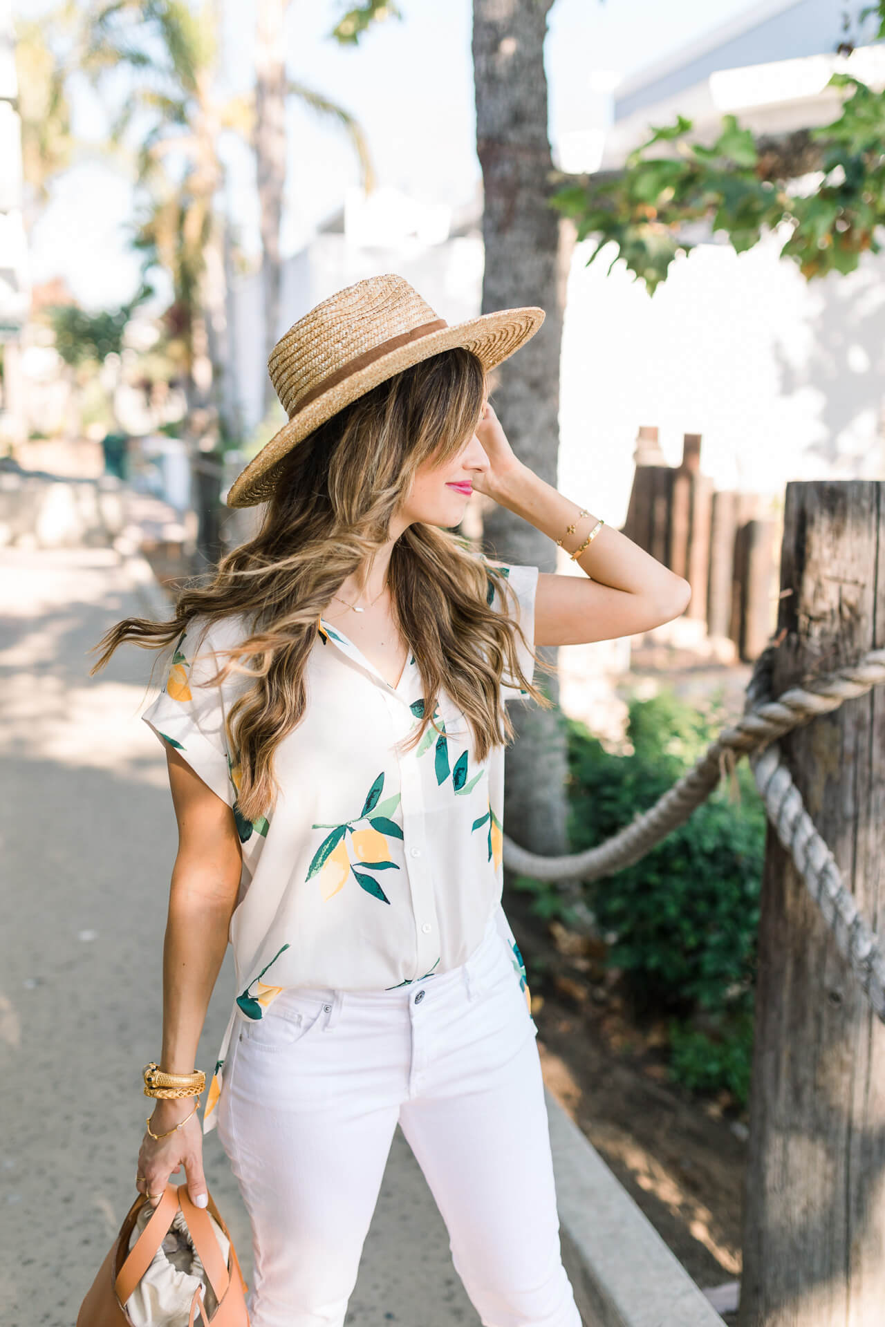 most flattering white jeans - M Loves M Los Angeles and Orange County fashion and lifestyle blogger @marmar