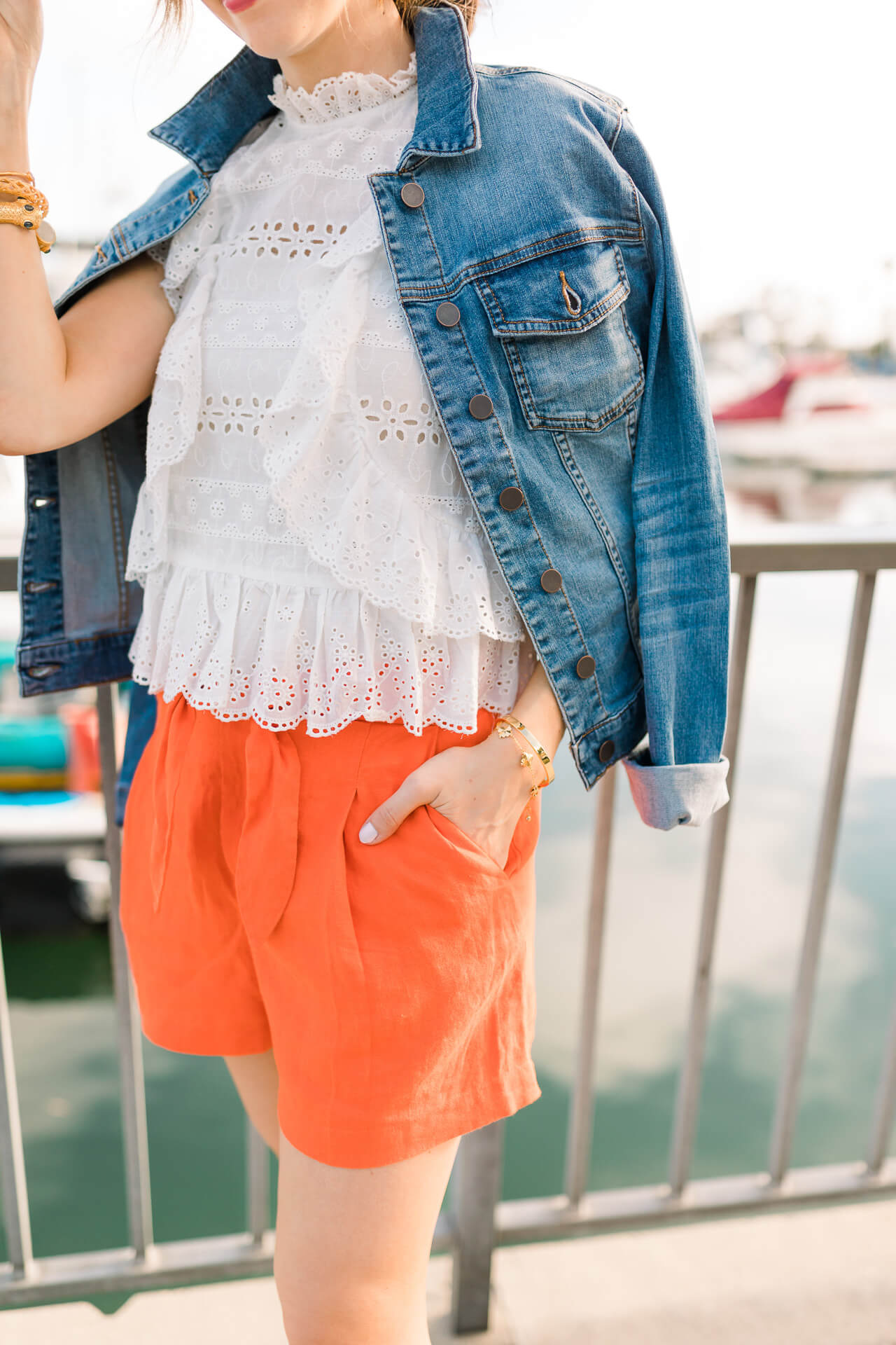 The cutest orange shorts from Joie! ! - M Loves M @marmar