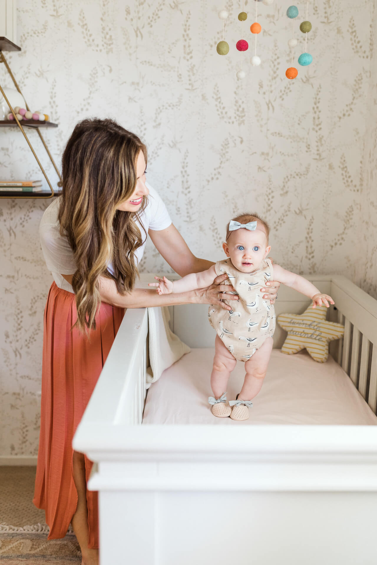 My baby's six month personality traits! - M Loves M @marmar