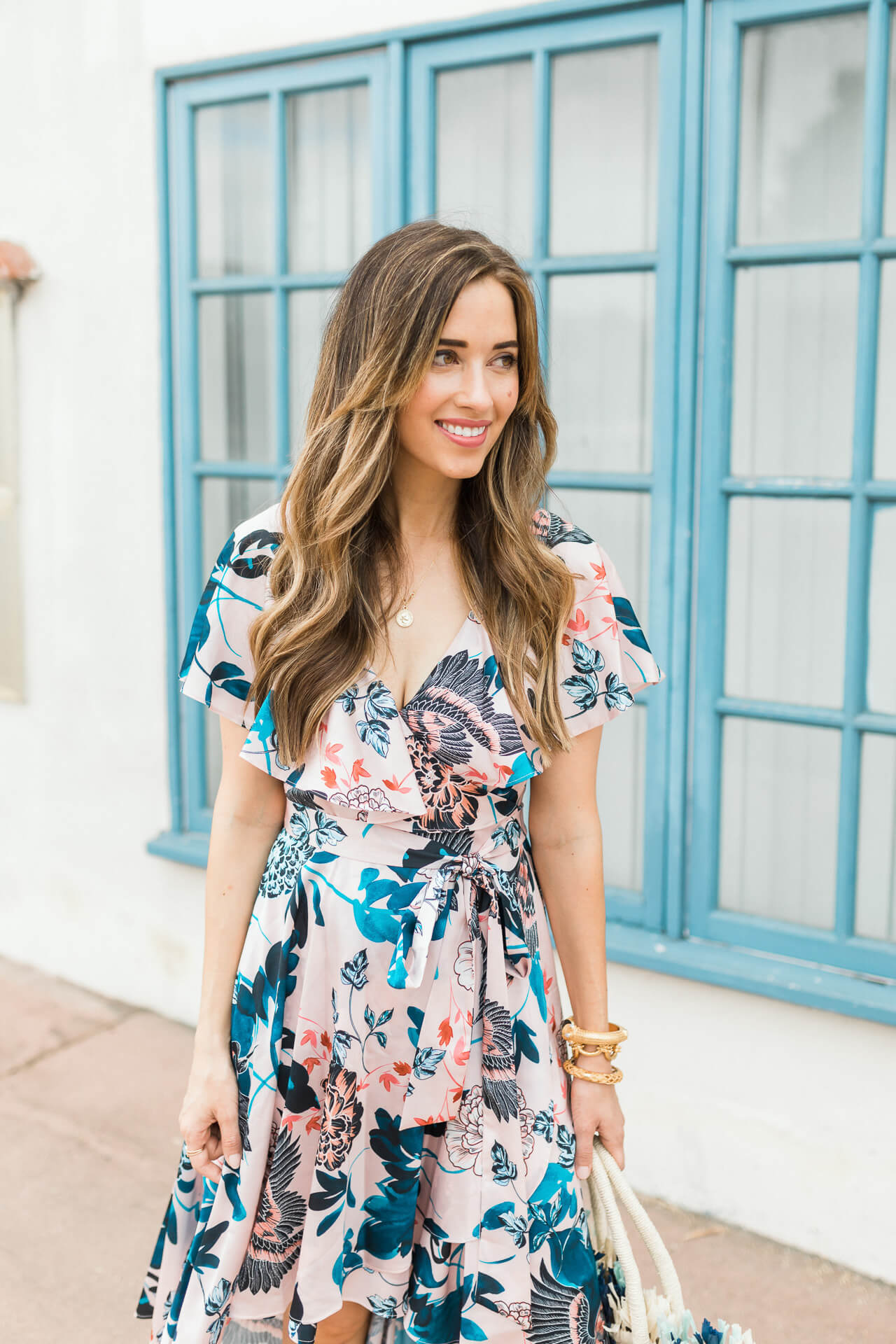 I love this Eliza J floral dress! - M Loves M @marmar