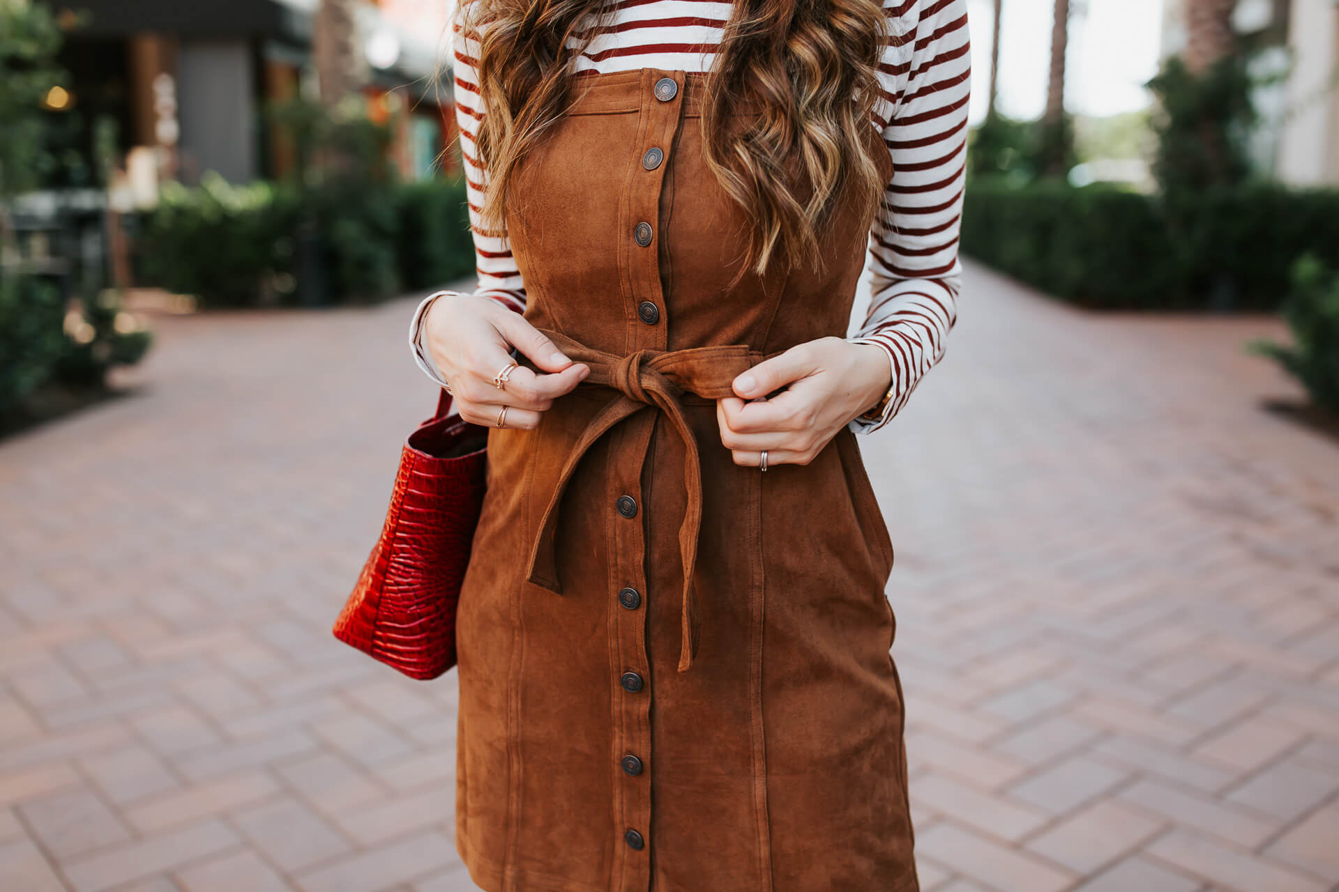A cute suede Abercrombie & Fitch dress! - M Loves M @marmar