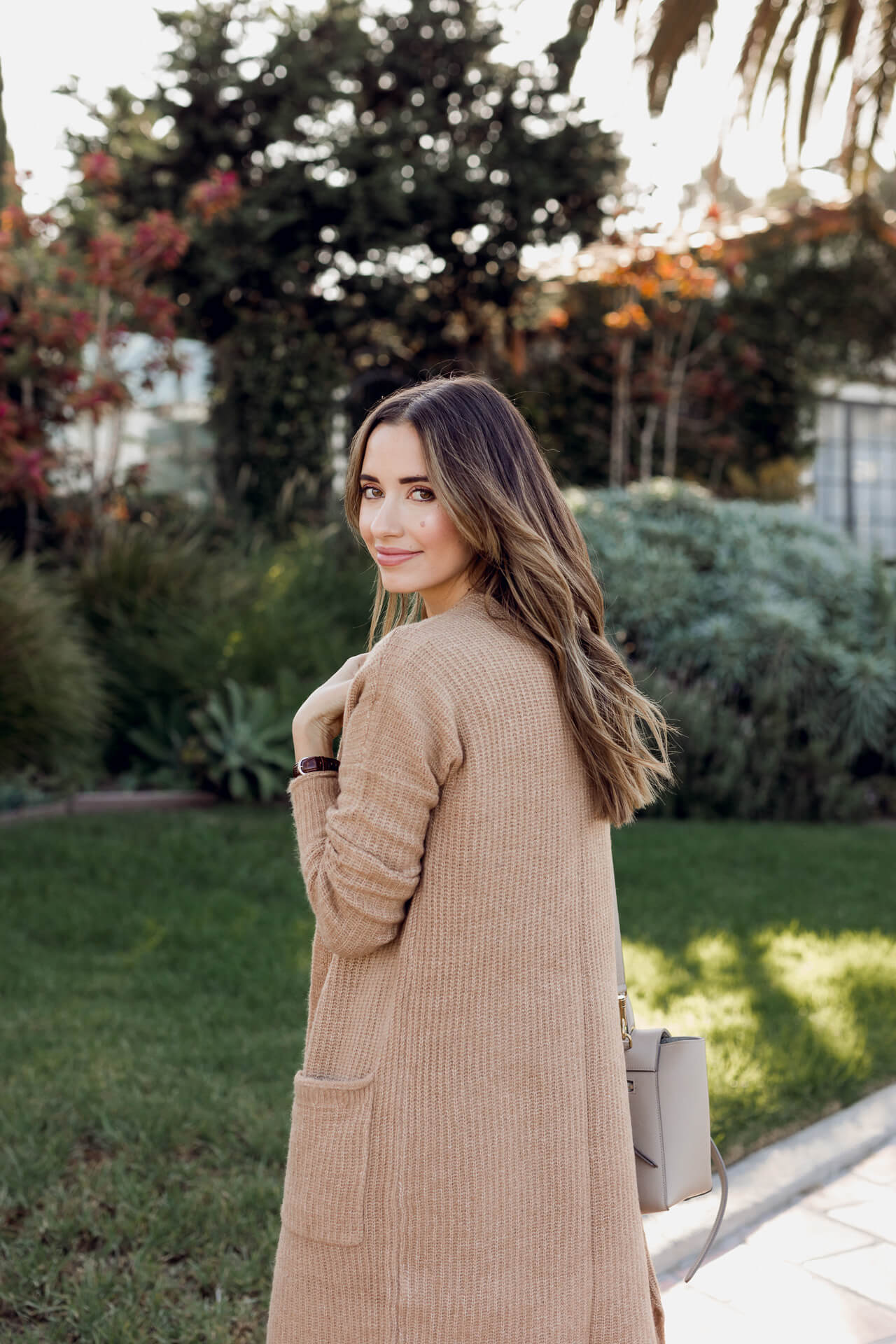 Long sweater from Abercrombie in camel. - M Loves M @marmar