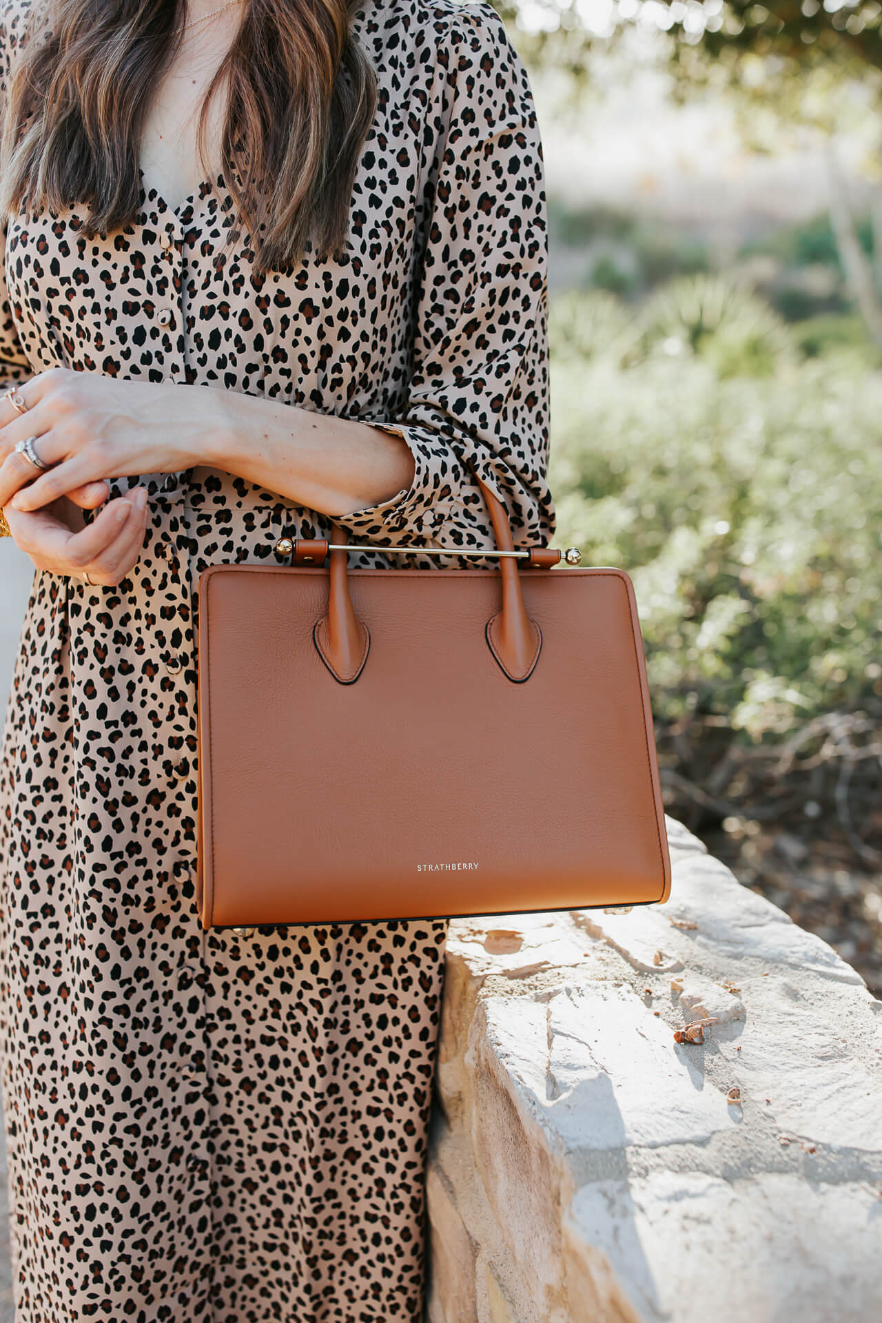 Love this brown Strathberry bag! ! - M Loves M @marmar