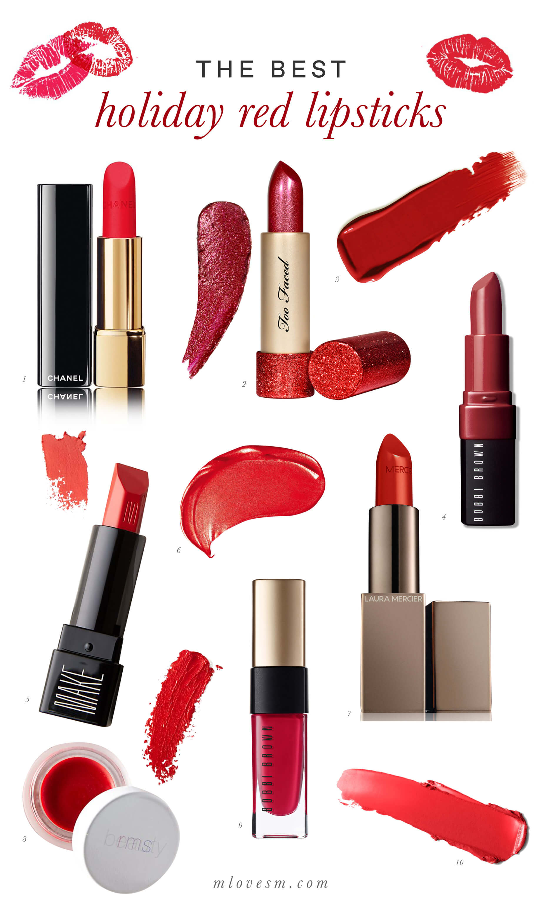 I found the best holiday red lipsticks- M Loves M @marmar