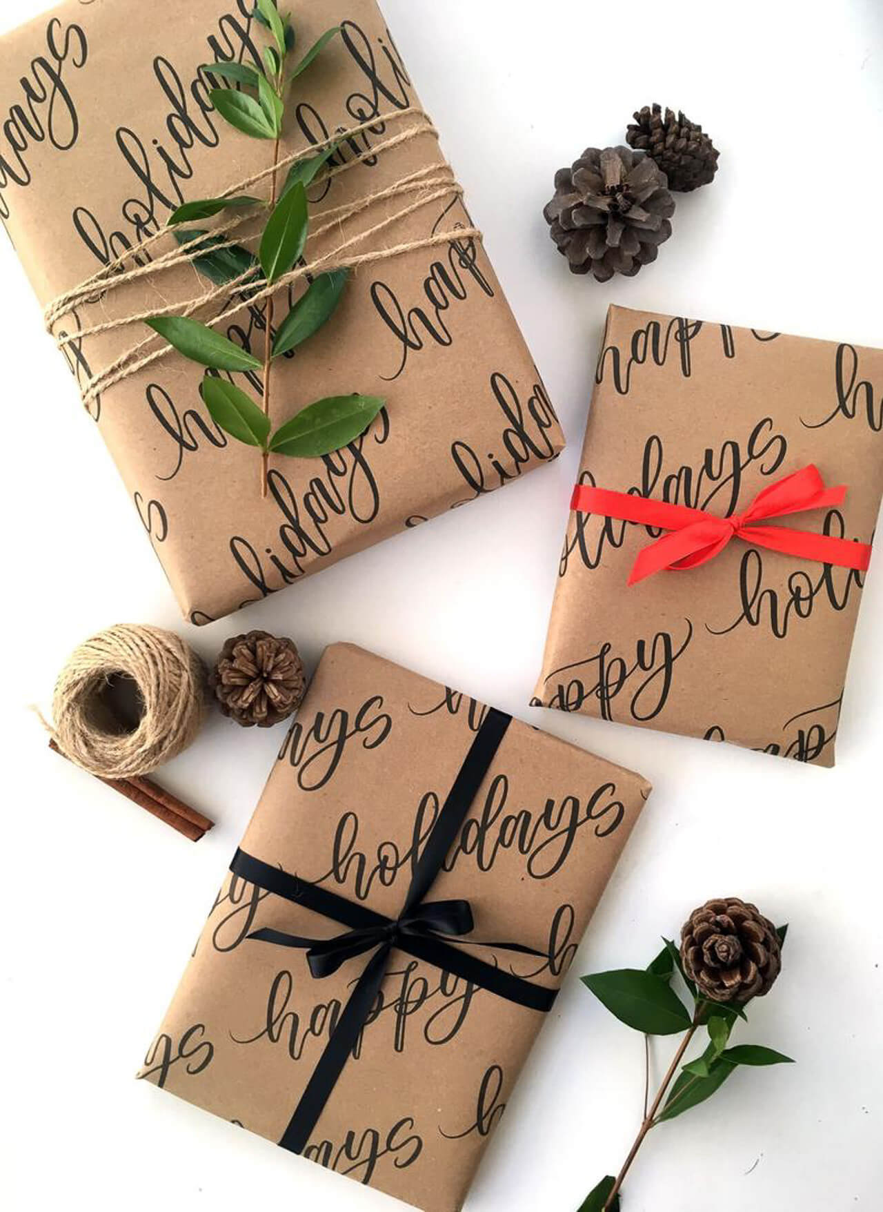 I love these craft wrapping paper ideas! - M Loves M @marmar