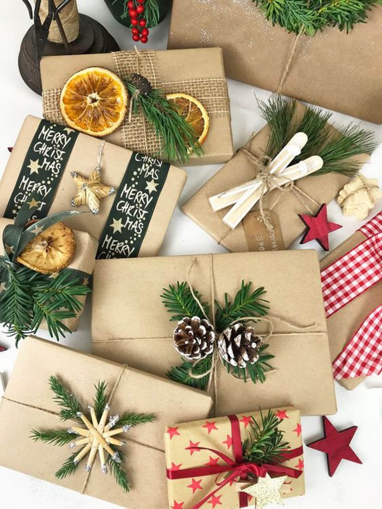 Holiday DIY brown paper wrapping! - M Loves M @marmar