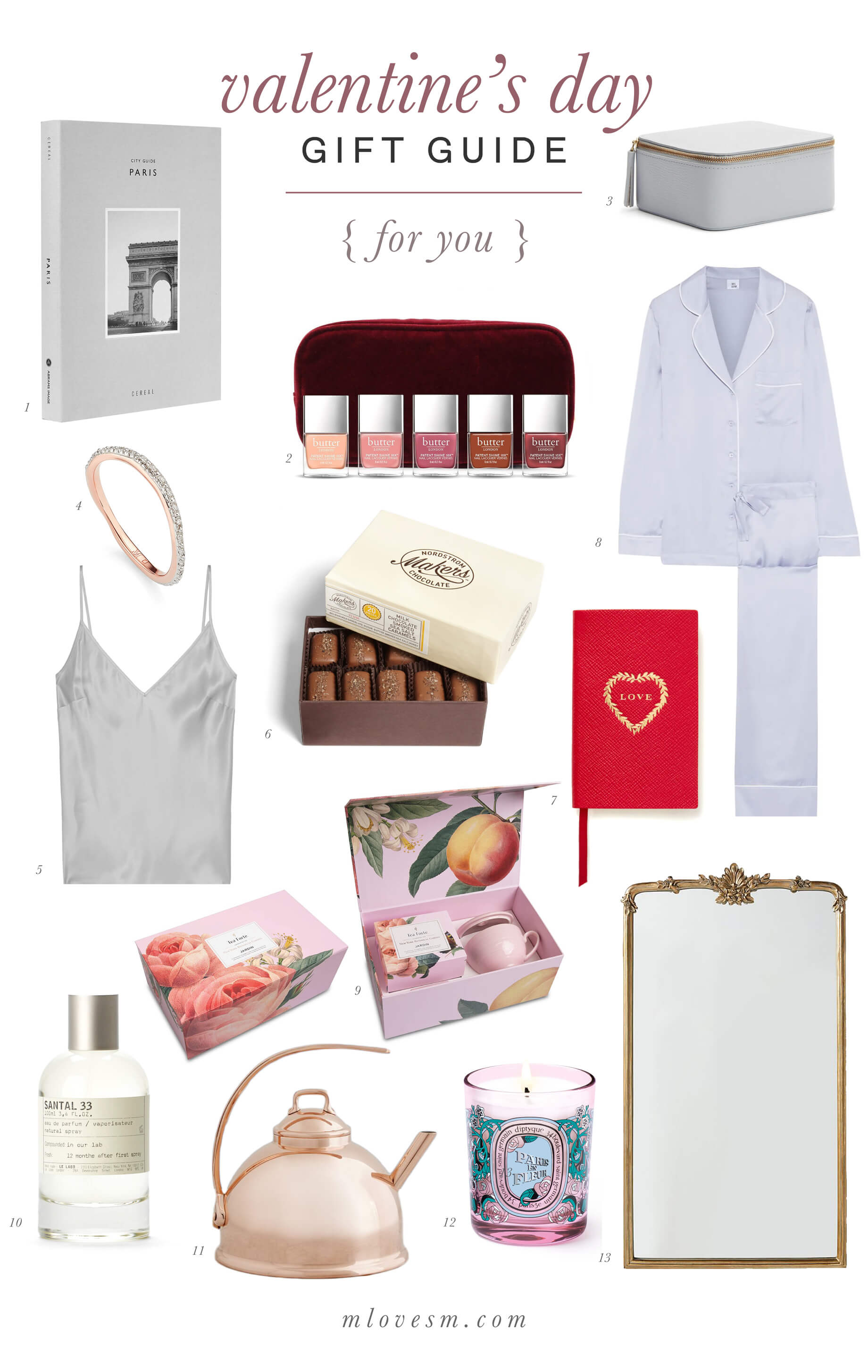 A Valentine's Day gift guide with under $25 gifts! - M Loves M @marmar