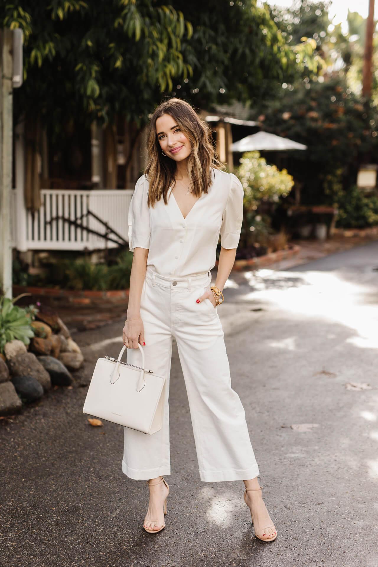I love this white Strathburry bag! - M Loves M @marmar