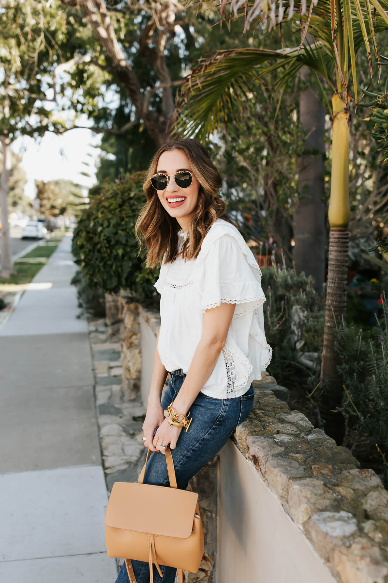 A casual outfit with AGOLDE jeans and a white top! - M Loves M @marmar