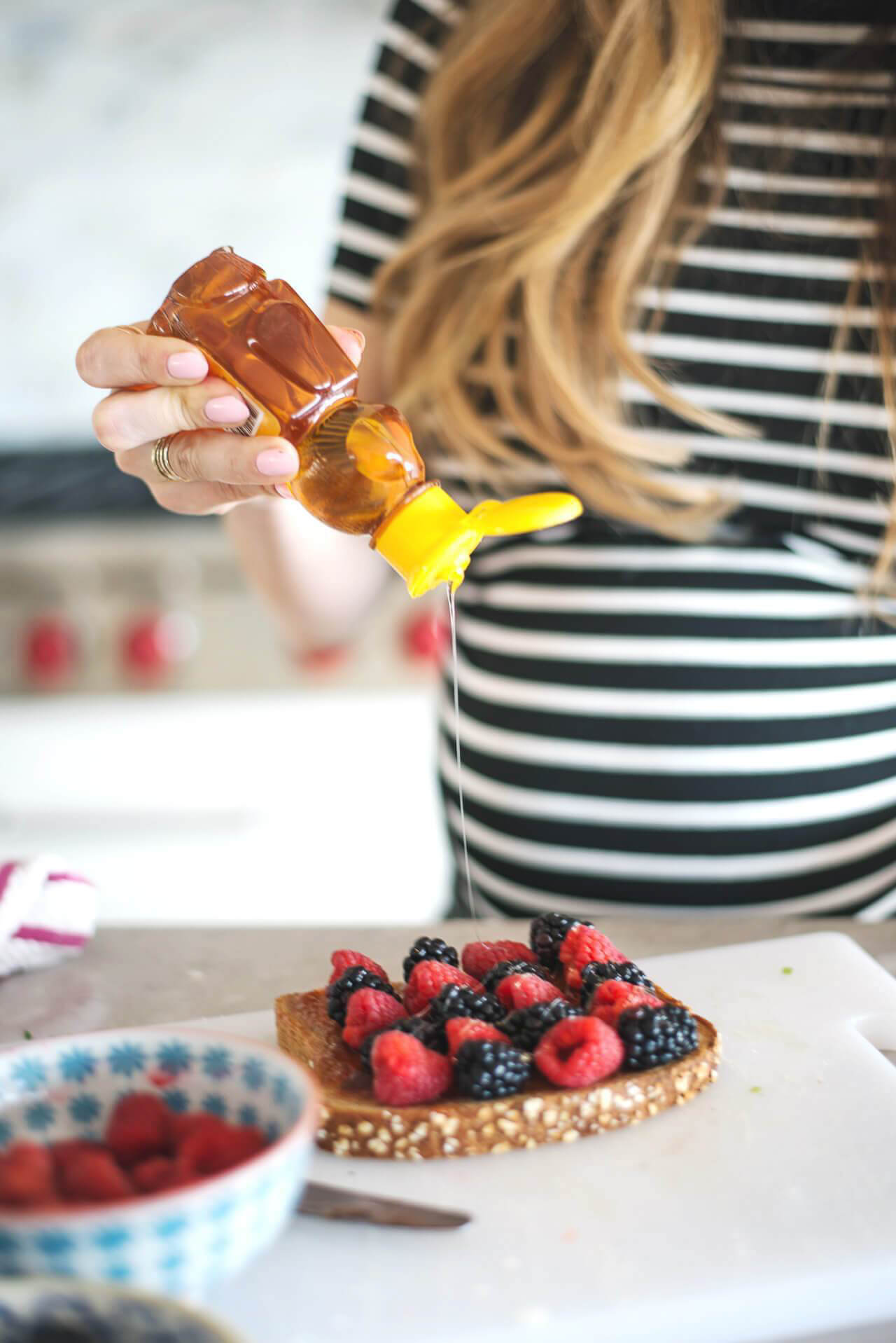 These four breakfast toast combos are all so delicious! - M Loves M @marmar