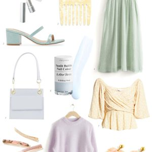 Love all these pretty pastels for spring! - M Loves M @marmar