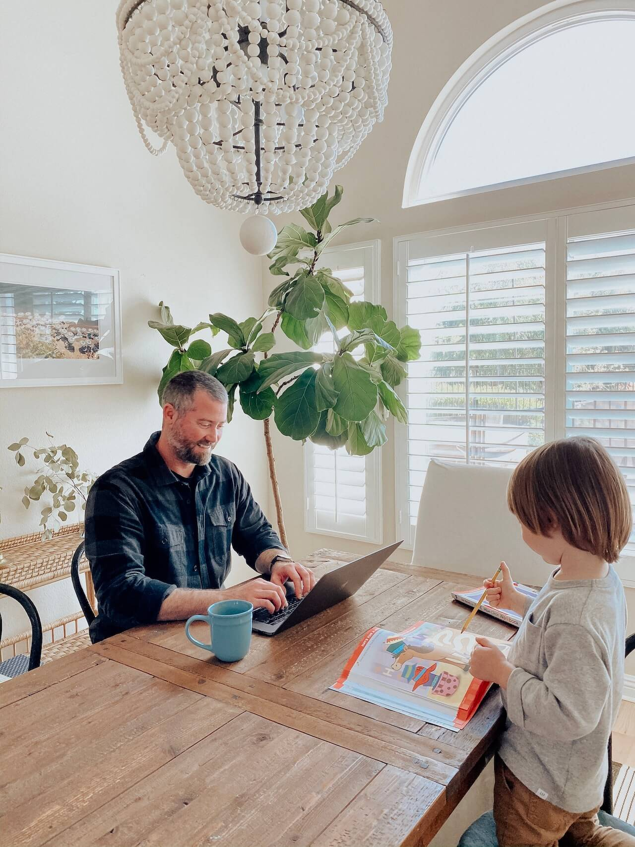 tips for working from home with kids - M Loves M @marmar