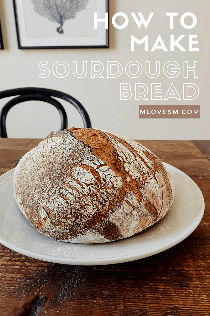 Here's how to get started making sourdough bread! - M Loves M @marmar