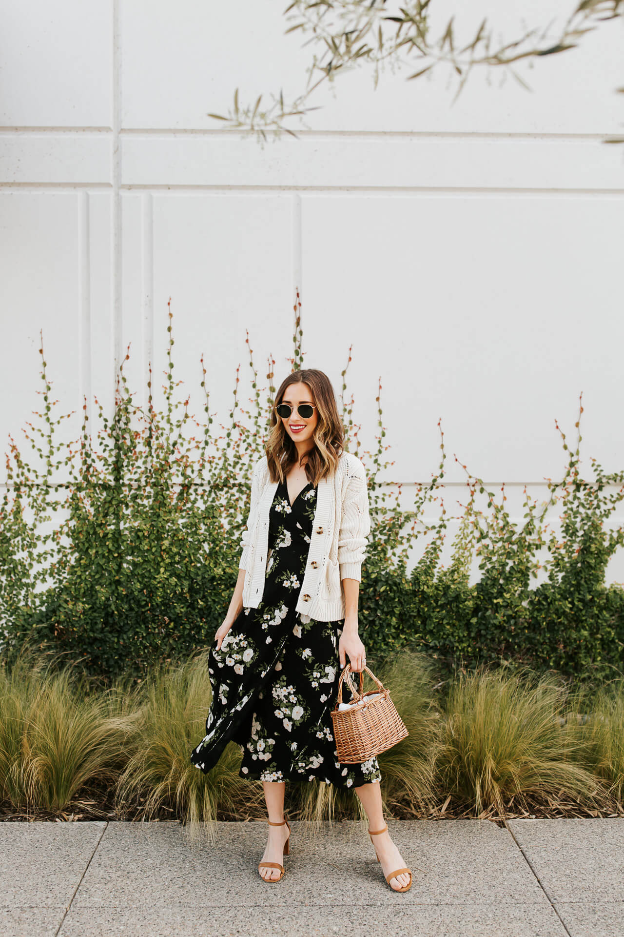 Floral wrap dresses are perfect for Spring! - M Loves M @marmar